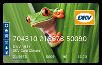 Carta carburante DKV Climate