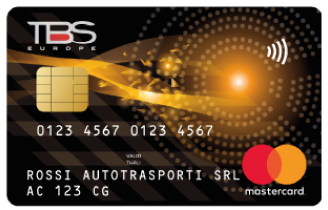 Carta carburante TBS