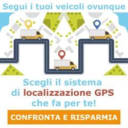 Segui i tuoi veicoli ovunque. Scegli il sistema di localizzazione GPS che fa per te! Confronta e risparmia!