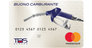 Buono carburante elettronico TBS Europe
